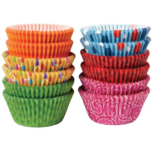 Cupcake Liners Baking Cups Seasons Combo Pack Cake