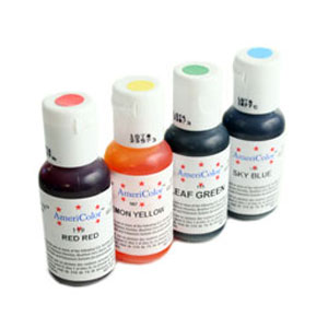 americolor gel food coloring | Food