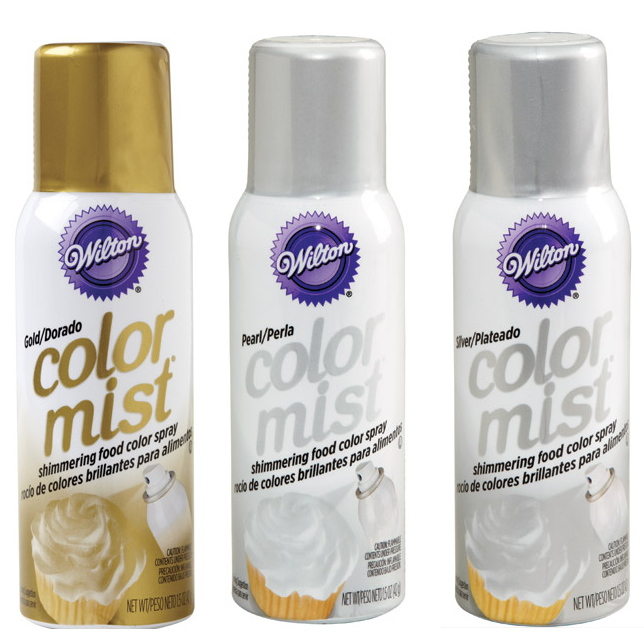 Wilton Color Mist Food Color Spray – Metallic / Pearl | Cake ...