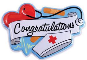 Poptop Topper Congratulations Nurse Cake Connection