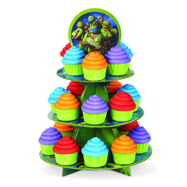 wilton teenage mutant ninja turtles 3tier cupcake stand