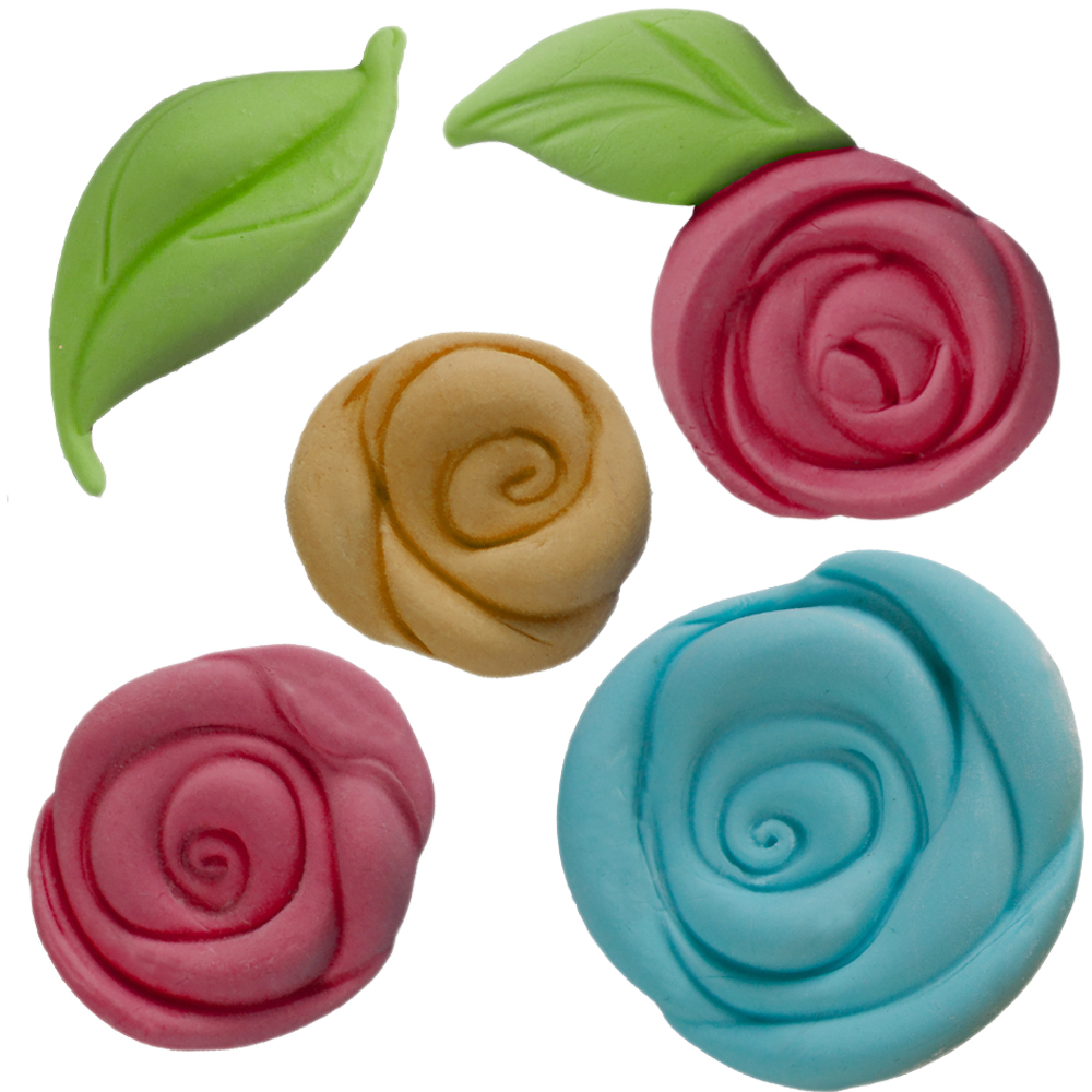 pouf rose silicone mold set cake connection. Black Bedroom Furniture Sets. Home Design Ideas