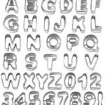 Letter & Number Cutters