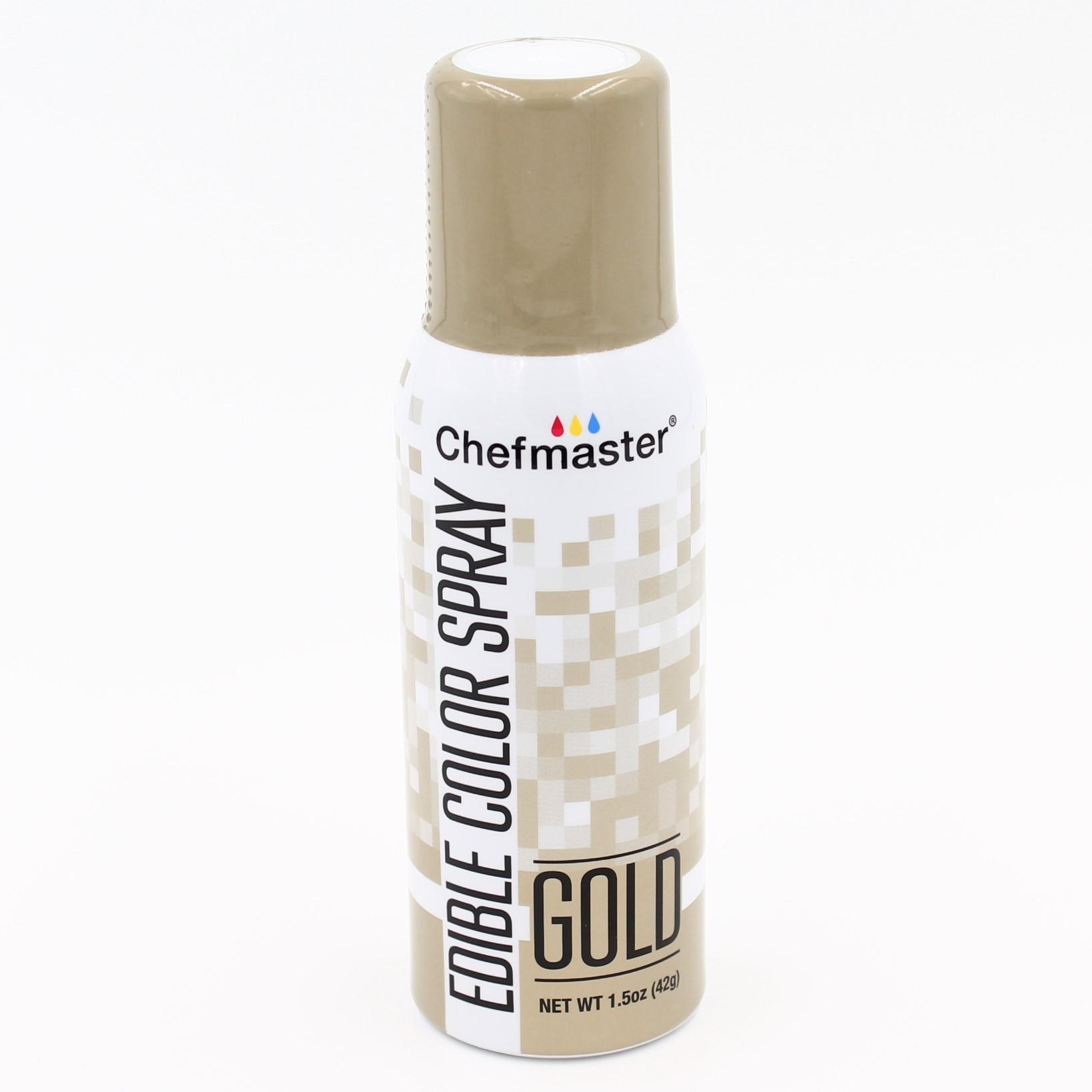 Chefmaster Spray Mist Food Color 1.5oz - Gold