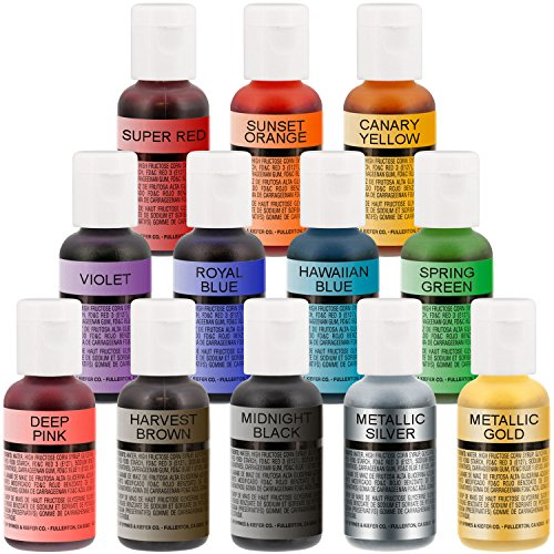Cake Decorating Airbrush Paint : Chefmaster Airbrush Food Color .64oz   Neon Purple Cake ...