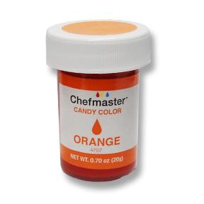 Chefmaster Candy Chocolate Food Color .70oz - Orange