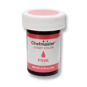 Chefmaster Candy Chocolate Food Color .70oz - Pink