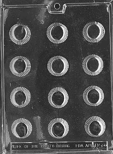 CANDY MOLD - Fluted Cup / Peanut Butter Cup 1 3/8