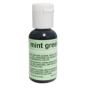 Chefmaster Liqua-Gel Paste Food Color .70oz - Mint Green