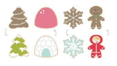 Cookie Cutter Set Sweet Sugarbelle Shape Shifter Winter